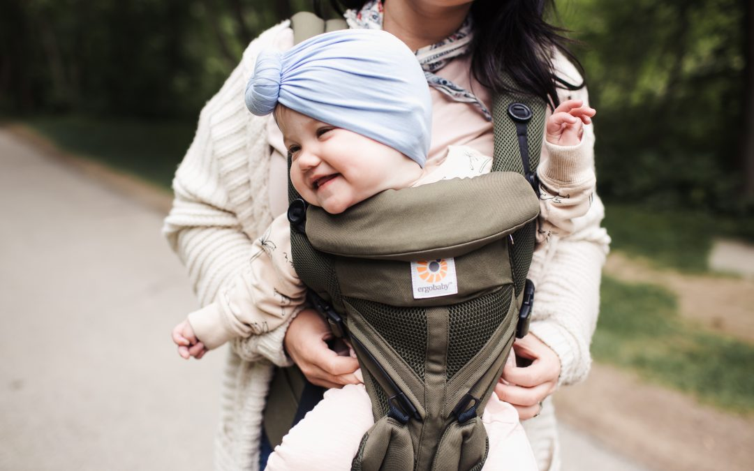 Summer with Ergobaby