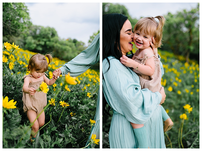 Sunflower Maternity Session Baby Boy